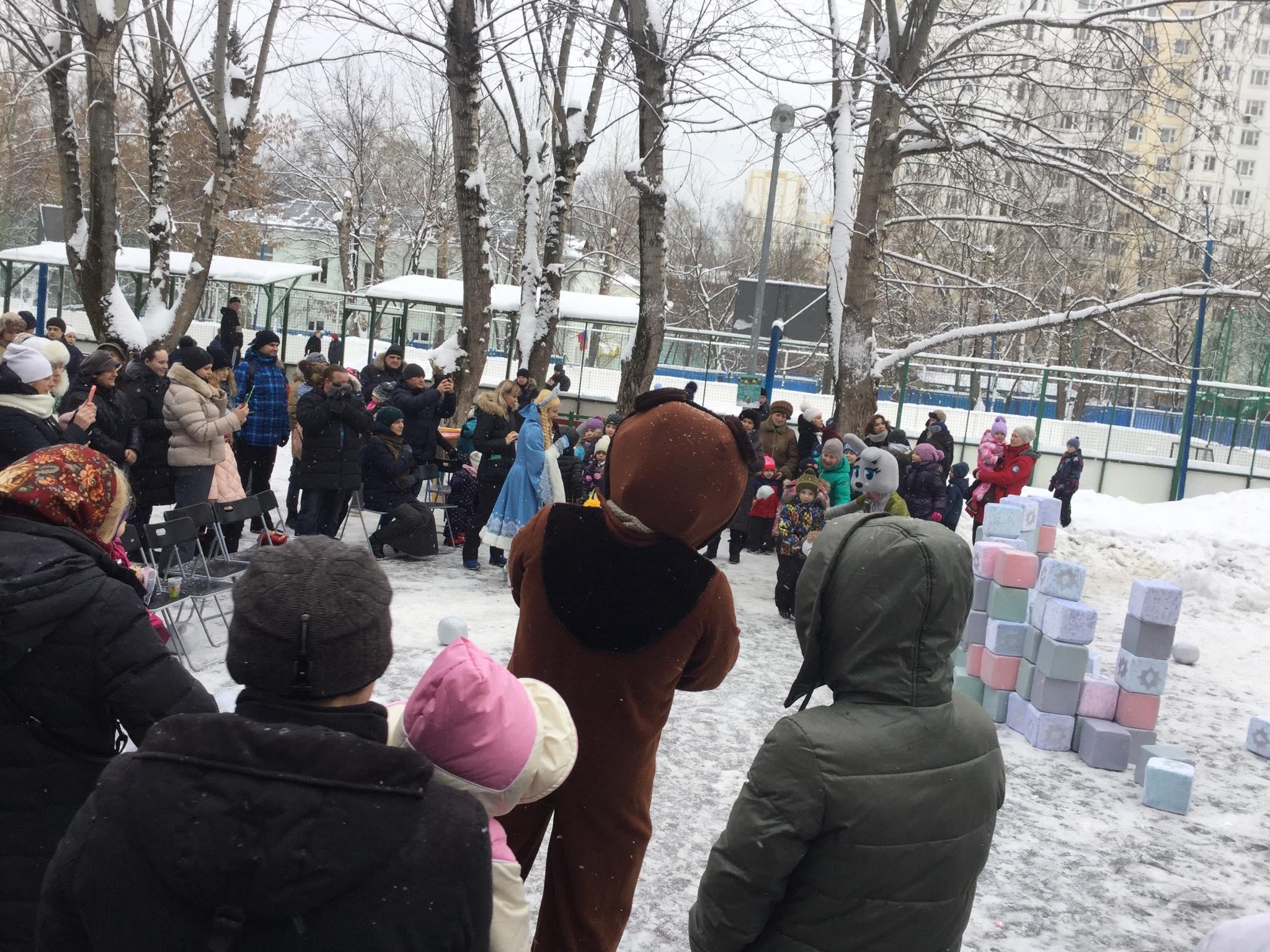Москва: «Протестная елка» в Кунцево